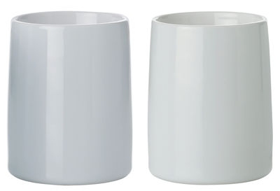 Tableware - Coffee Mugs & Tea Cups - Emma Thermal travel cup - Set of 2 / Thermo by Stelton - Light blue / Light green - China