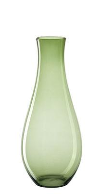 Déco - Vases - Vase Giardino / H 60 cm - Leonardo - Vert fumé - Verre