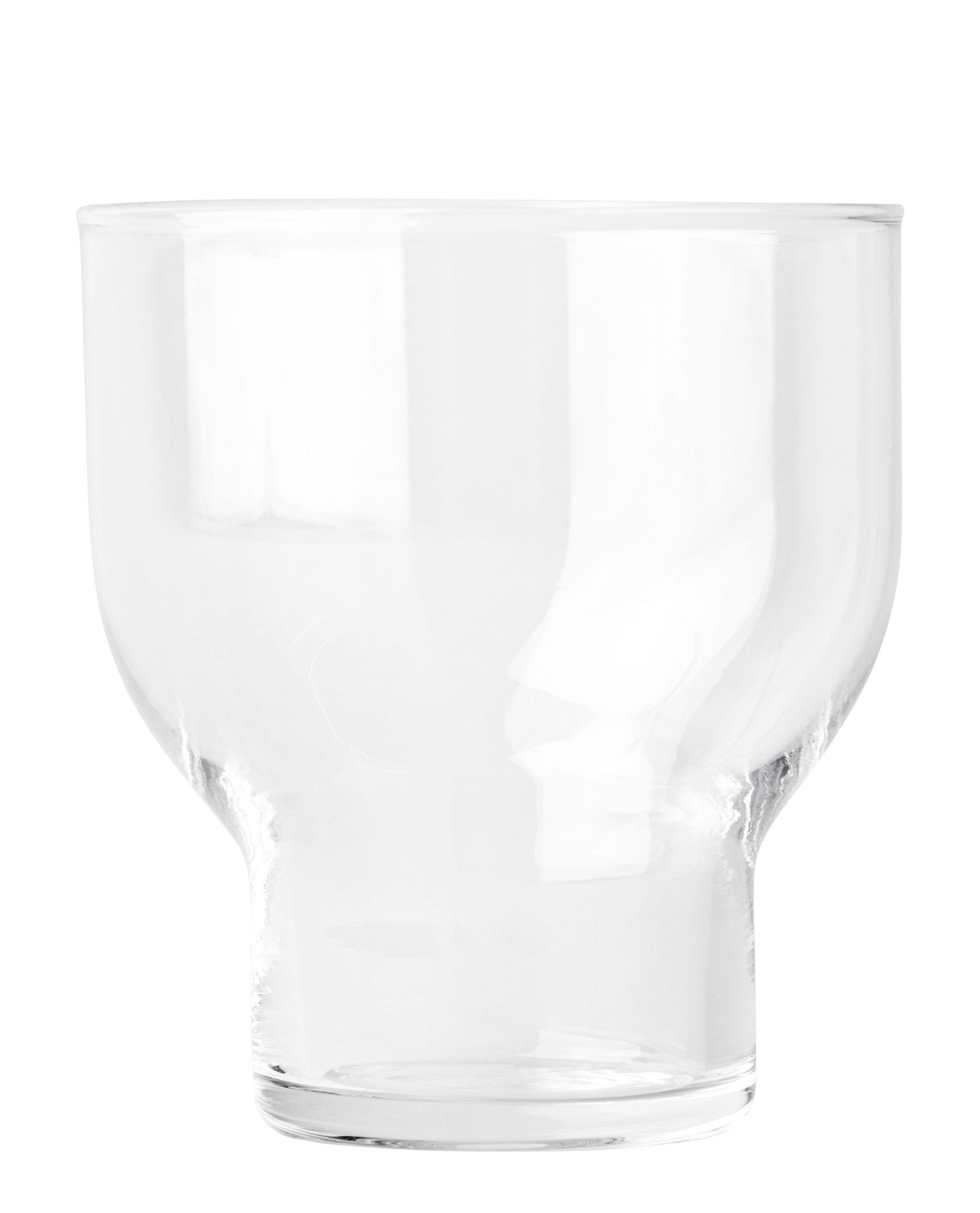 Arts de la table - Verres  - Verre Stackable Glass / 27 cl - H 9,5 cm - Menu - Transparent - Verre soufflé bouche