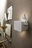 Umarell LED Wandleuchte / Keramik - L 18 x H 13 cm - Karman