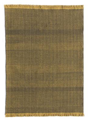 Dekoration - Teppiche - Tres Außenteppich / 200 x 300 cm - Nanimarquina - Senf - Polyäthylen