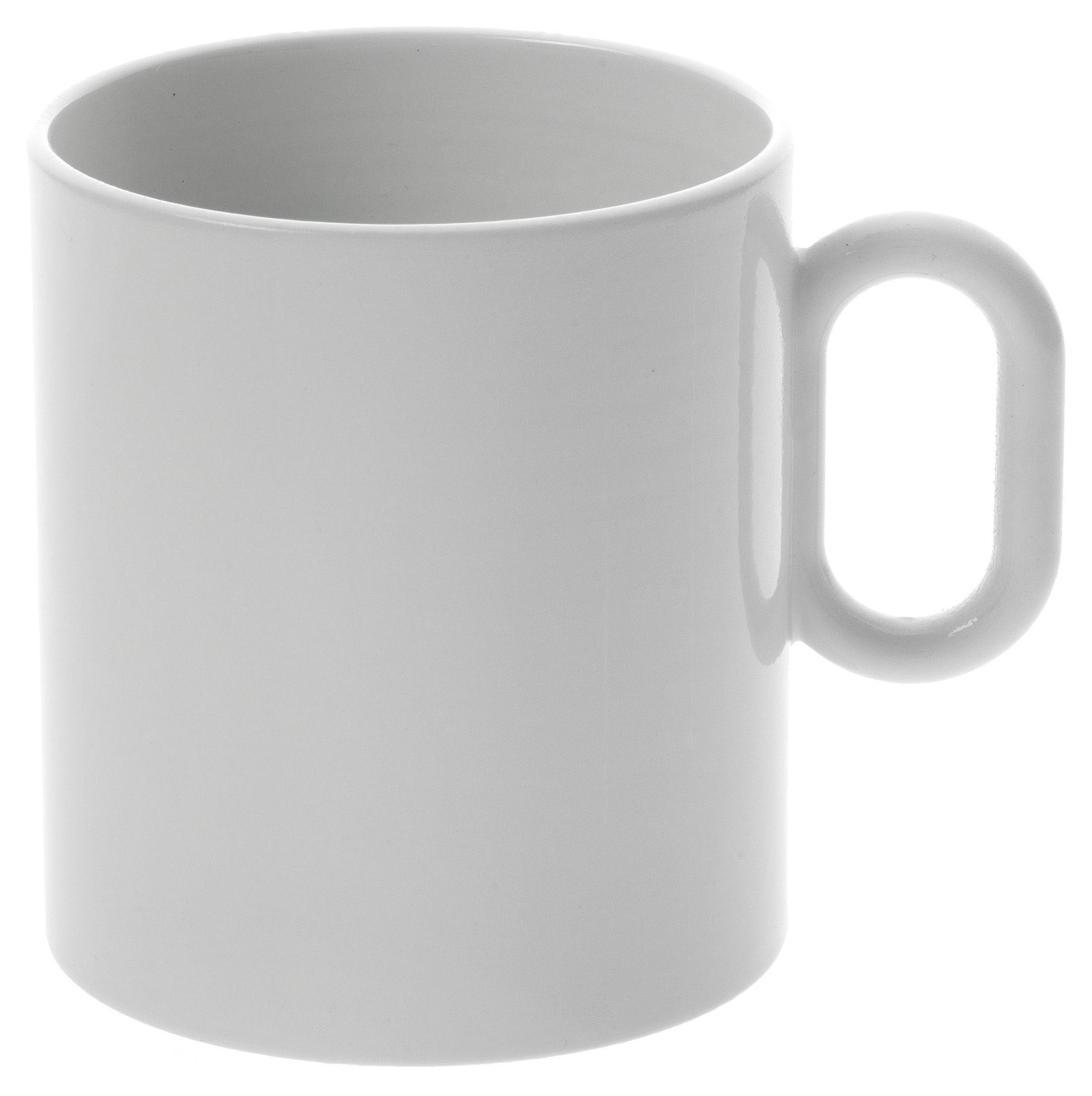 Tischkultur - Tassen und Becher - Dressed Becher - Alessi - weiß - Porzellan