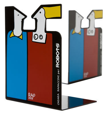 Decoration - Funny & surprising - Giulietta e Roméo Book end by Robots - Multicoloured - Painted steel