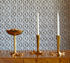 Bird claw Candle stick - / Polished brass – Hand-made by Jonathan Adler