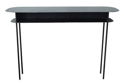 Furniture - Console Tables - Tokyo Console - 110 x 40 cm by Maison Sarah Lavoine - Black - Steel