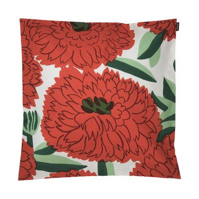 Déco - Coussins - Housse de coussin Primavera / 50 x 50 cm - Marimekko - Primavera / Orange & vert - Coton