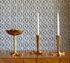 Bird claw Kerzenleuchter / Messing, poliert - handgefertigt - Jonathan Adler