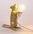 Lampada da tavolo Mouse Standing #1 - / Topo in piedi di Seletti