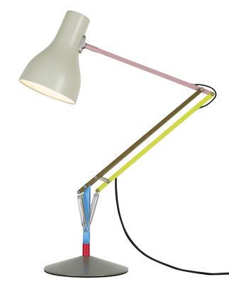 Lampe de table Type 75 / By Paul Smith - Edition n°1 - Anglepoise bleu,rose,jaune,kaki en métal