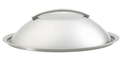 Kitchenware - Pots & Pans - Dôme Lid - Ø 24 cm by Eva Trio - Steel - Stainless steel
