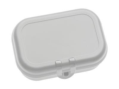 Lunch box Pascal Small - Koziol gris clair en matière plastique