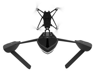 Accessoires - Objets connectés, accessoires high tech - Minidrone Hydrofoil Orak / Bluetooth - Caméra embarquée - Air et eau - Parrot - Noir / Blanc - Polyamide, PPE