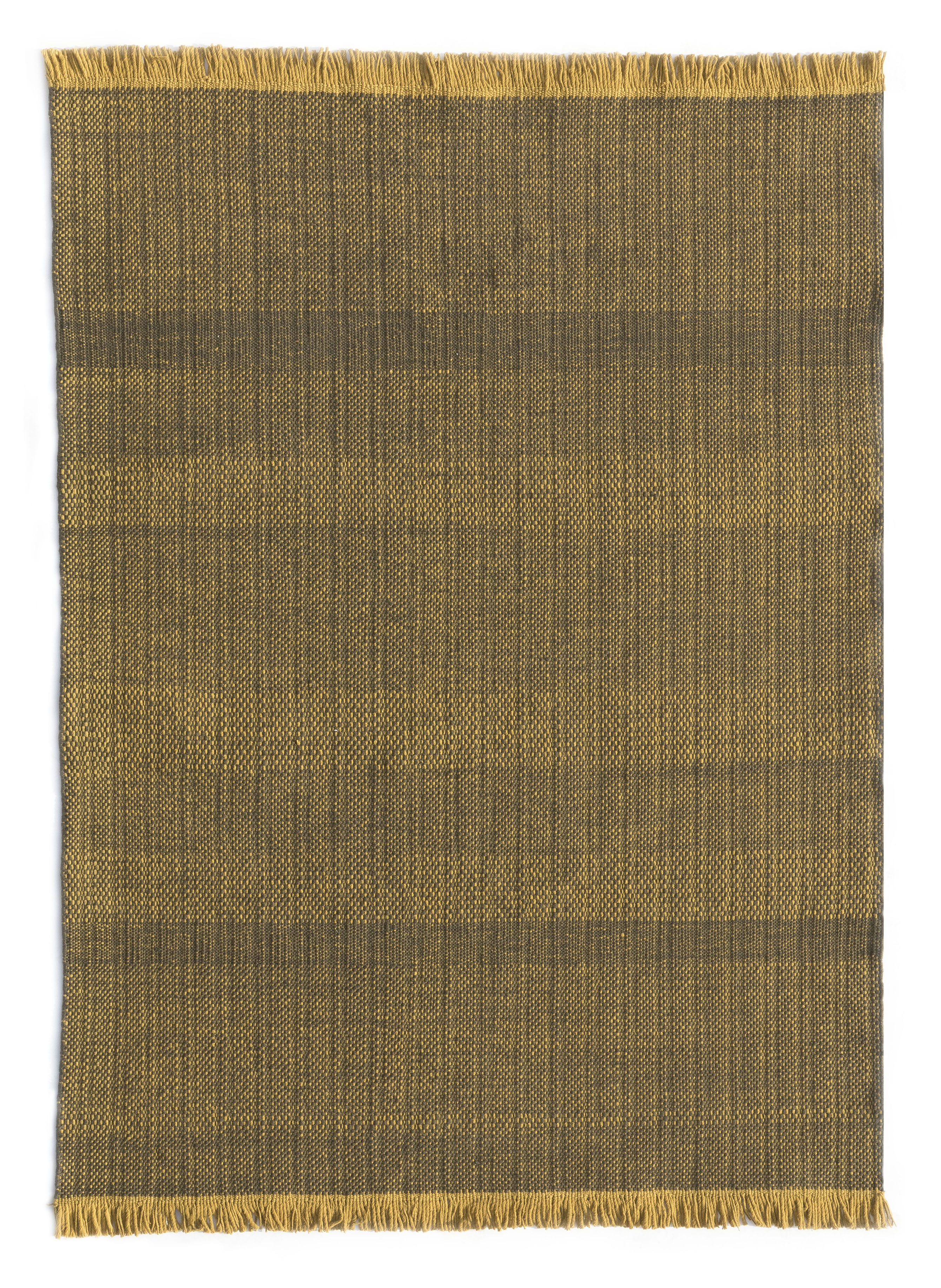Decoration - Rugs - Tres Outdoor rug - / 200 x 300 cm by Nanimarquina - Mustard - Polythene