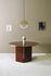 Brandy Oval table - / 120 x 100 cm - Glass by ENOstudio