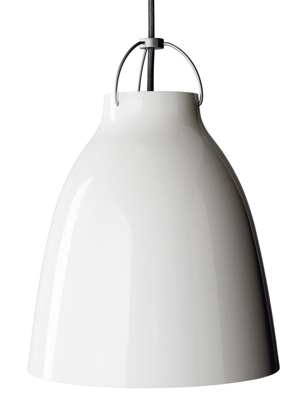 Lighting - Pendant Lighting - Caravaggio Medium Pendant by Lightyears - White - Ø 25,7 cm - Lacquered aluminium