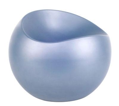 Pouf Ball Chair - XL Boom bleu en matière plastique
