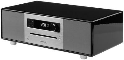 Accessoires - Réveils et radios - Radio-réveil SonoroStereo / Avec platine CD intégrée - Bluetooth® - Sonoro - Noir - Bois laqué