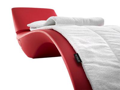 Jardin - Bains de soleil, chaises longues et hamacs - Revêtement pour bains de soleil Zoe et Cloe - MyYour - Blanc - Polyester