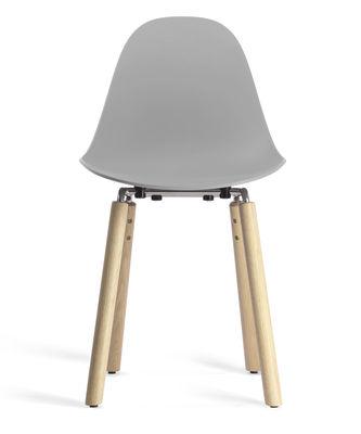 ta stuhl stuhlbeine aus holz grau stuhlbeine holz natur by toou made in design. Black Bedroom Furniture Sets. Home Design Ideas