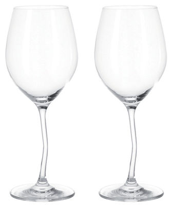 Arts de la table - Verres  - Verre à vin Modella / Lot de 2 - 50 cl - Leonardo - Transparent - Verre