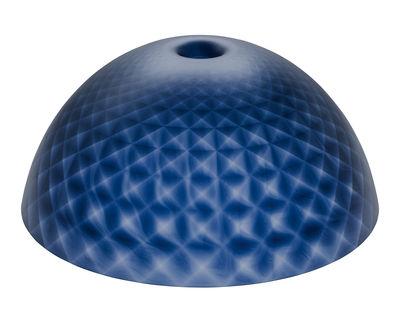Abat-jour Stella XL / Ø 67 cm - Koziol bleu marine transparent en matière plastique