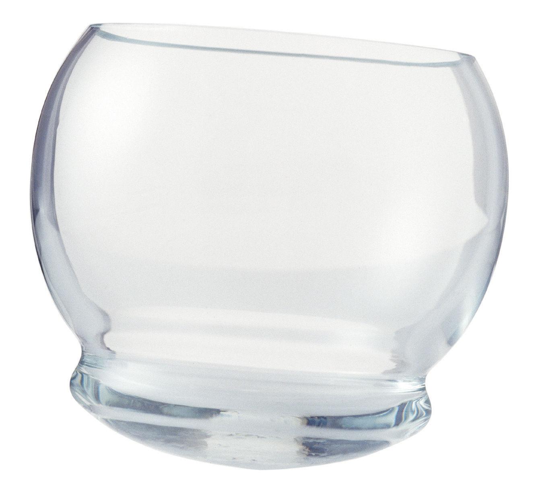 Tavola - Bicchieri  - Bicchiere da whisky Rocking Glass - Set di 4 bicchieri oscillanti di Normann Copenhagen - Trasparente - Vetro