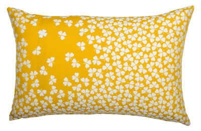 Coussin d´extérieur Trèfle / 68 x 44 cm - Fermob miel en tissu