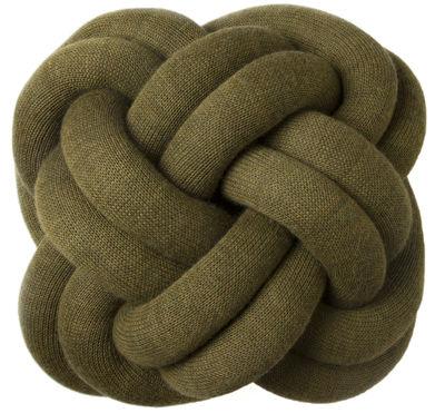 Déco - Coussins - Coussin Knot - Design House Stockholm - Vert kaki - Tissu
