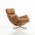 Fauteuil pivotant Grand Relax / Pivotant & inclinable - Cuir - Vitra