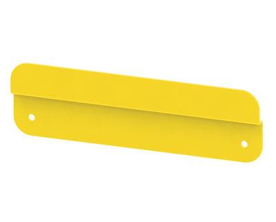 fixation murale / pour étagère knick jaune - matière grise | made in