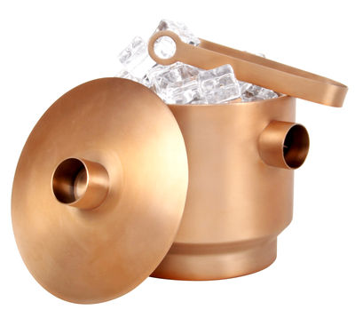 Tableware - Wine Accessories - Rondo Ice bucket by XL Boom - Copper - Stainless steel