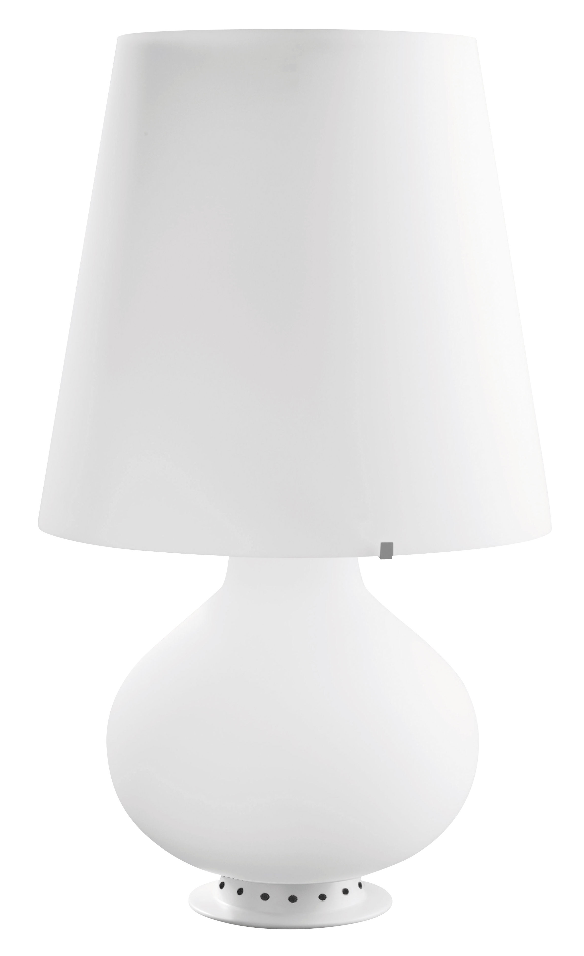Illuminazione - Lampade da tavolo - Lampada Fontana di Fontana Arte - H 78 cm - Metallo, vetro soffiato