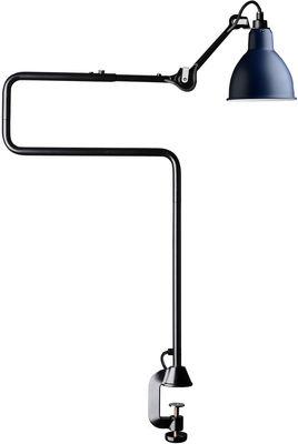 Lampe de table N°211-311 / Lampe d'architecte - Base étau / Lampe Gras - DCW éditions bleu,noir en métal