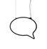 Bla Bla small Pendant - / Expressive space - L 57 cm by Mogg