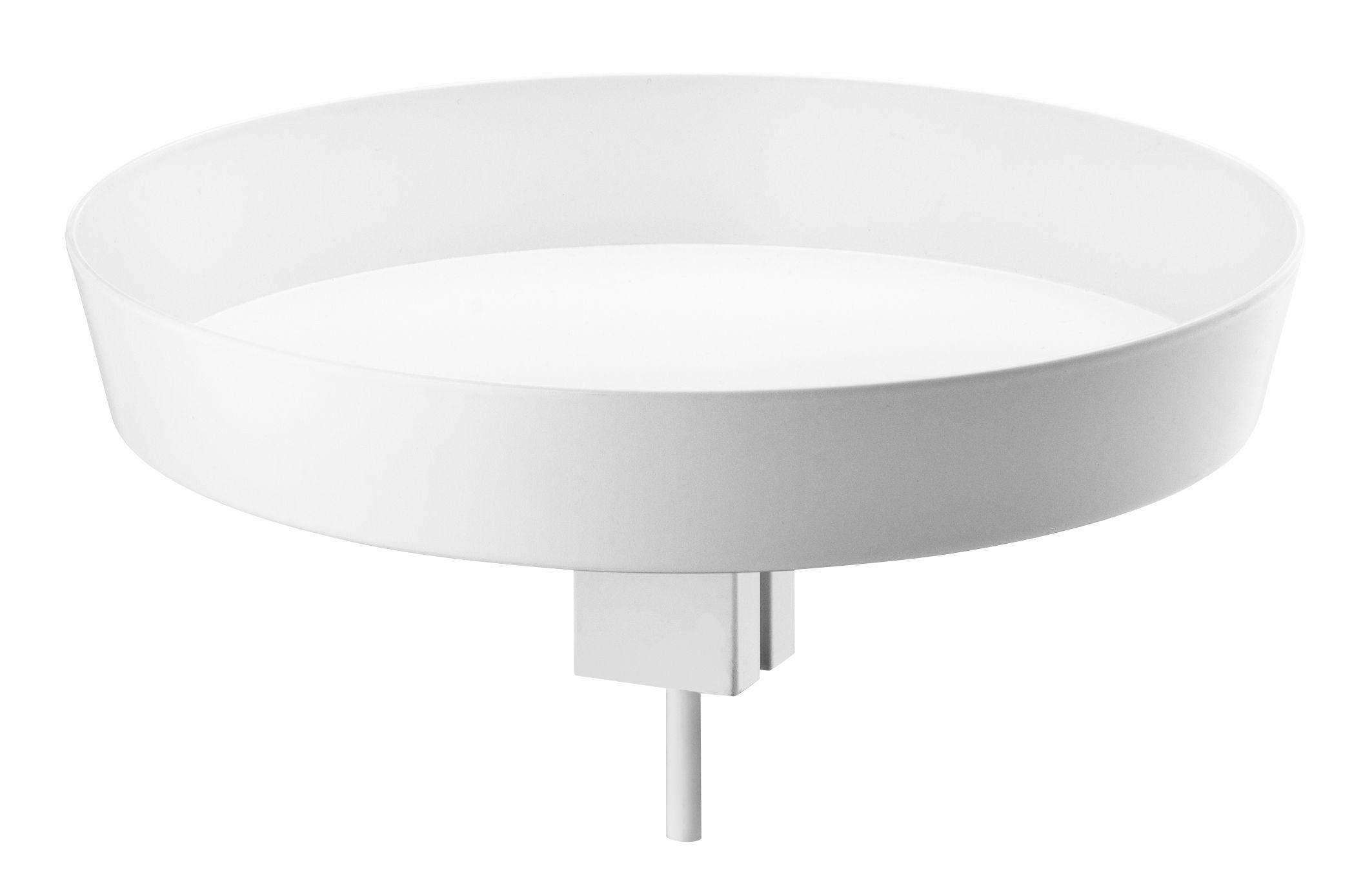 Arredamento - Raccoglitori - Svuotatasche String Works - / Per mobiletto di String Furniture - Bianco - Acciaio laccato