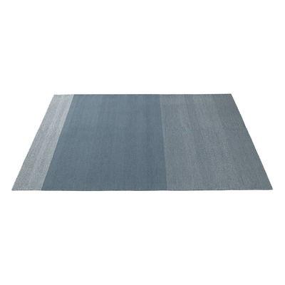 Déco - Tapis - Tapis Varjo / 200 x 300 cm - Tissé main - Muuto - Bleu - Laine