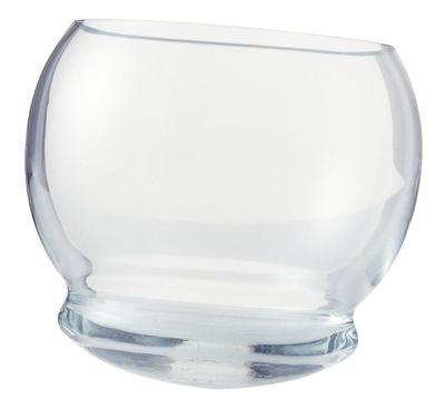 Verre à whisky Rocking Glass / Lot 4 verres à bascule - Normann Copenhagen transparent en verre