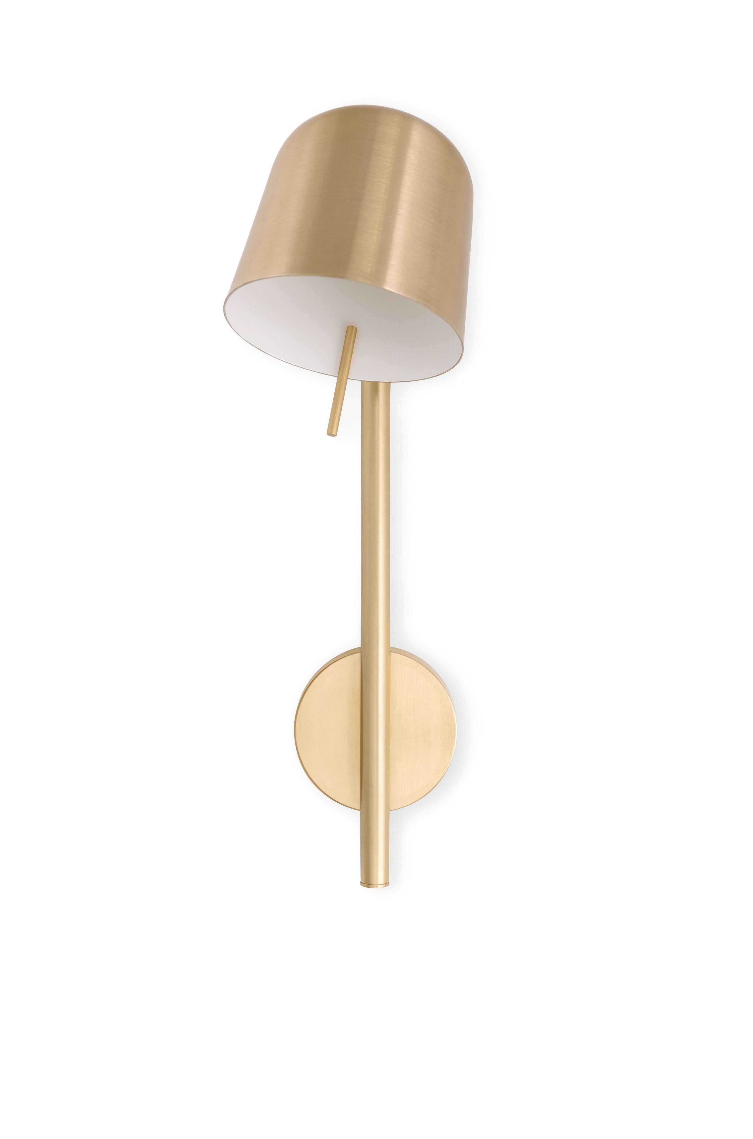Lighting - Wall Lights - HÔ! Wall light - / Orientable by Spécimen Editions - Brass - Brushed brass, Copper