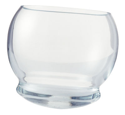 Tableware - Wine Glasses & Glassware - Rocking Glass Whisky glass - Set of 4 glasses by Normann Copenhagen - Clear - Glass