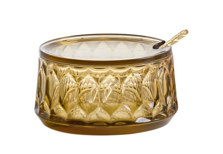 Tavola - Caffè - Zuccheriera Jellies Family - / Con cucchiaio di Kartell - Verde - Tecnopolimero termoplastico