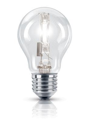 Ampoule Eco-halogène E27 EcoClassic Standard / 105W (140W) - 1980 lumen - Philips transparent en verre