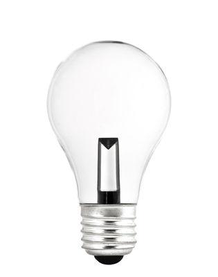 Ampoule LED E27 MONOBLOC / 1,5W = 15W - Pop Corn transparent en verre