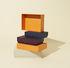 Boîte Desktop / Set de 4 - L 32 cm - Hay