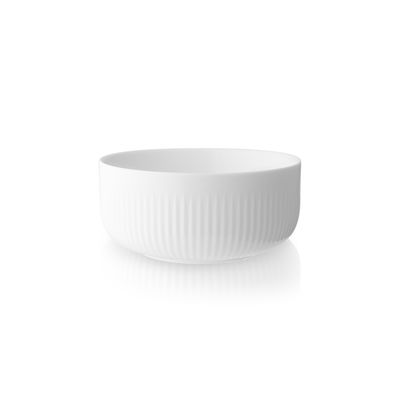 Tableware - Bowls - Legio Nova Bowl - / Insulated - Porcelain - 0.4 L by Eva Trio - 0.4 L / White - China