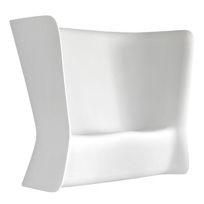Canapé lumineux Nova / Sans fil RGB - 2 places - L 175 cm - MyYour blanc en matière plastique
