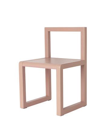 Chaise enfant Little Architect / Bois - Ferm Living rose en bois