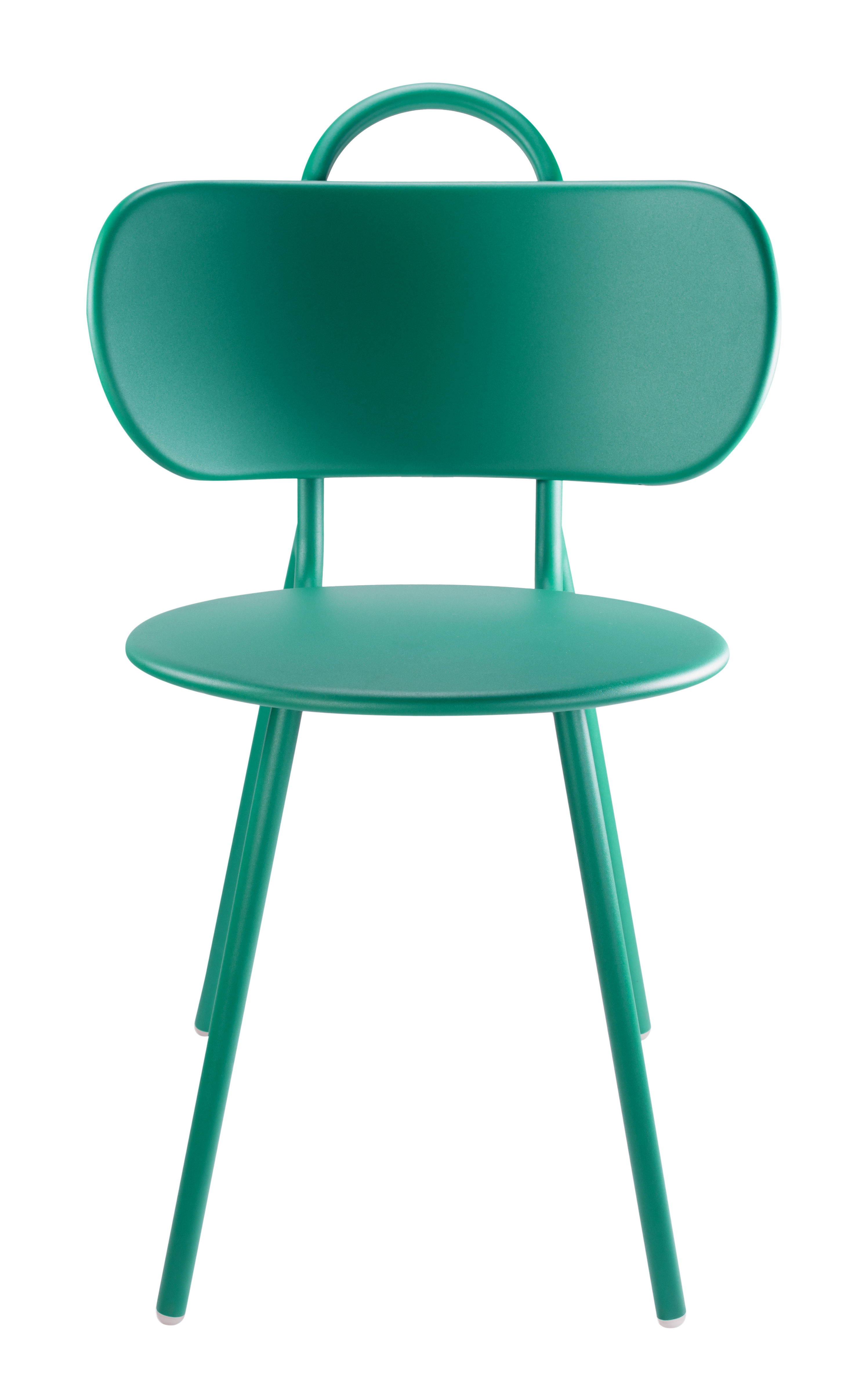 Chaise Swim Bibelo Bleu Turquoise L 46 X H 81 5 Made In Design
