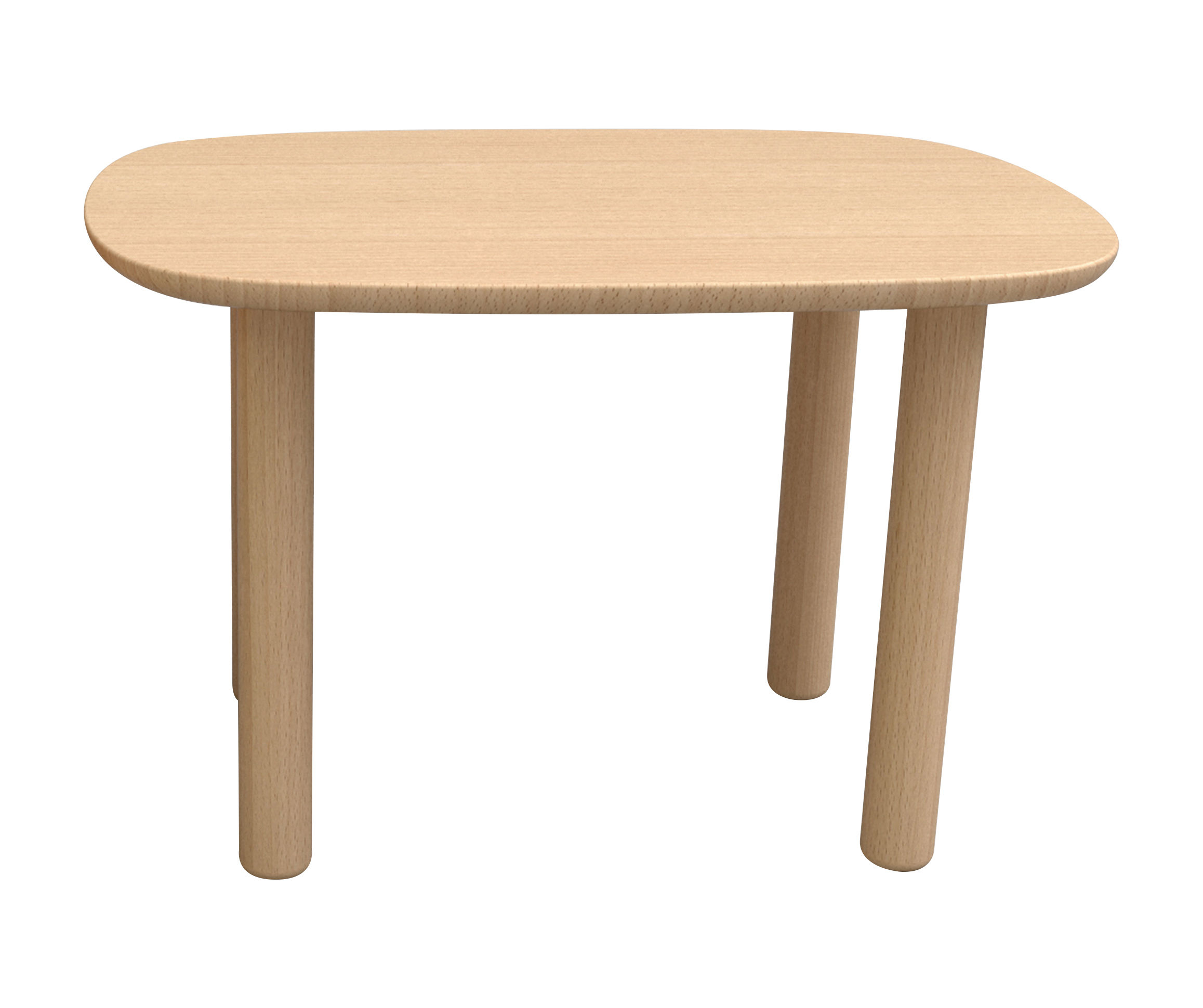 Furniture - Kids Furniture - Elephant Children table - 55 cm x 75 cm by EO - Beech - Lacquered beechwood