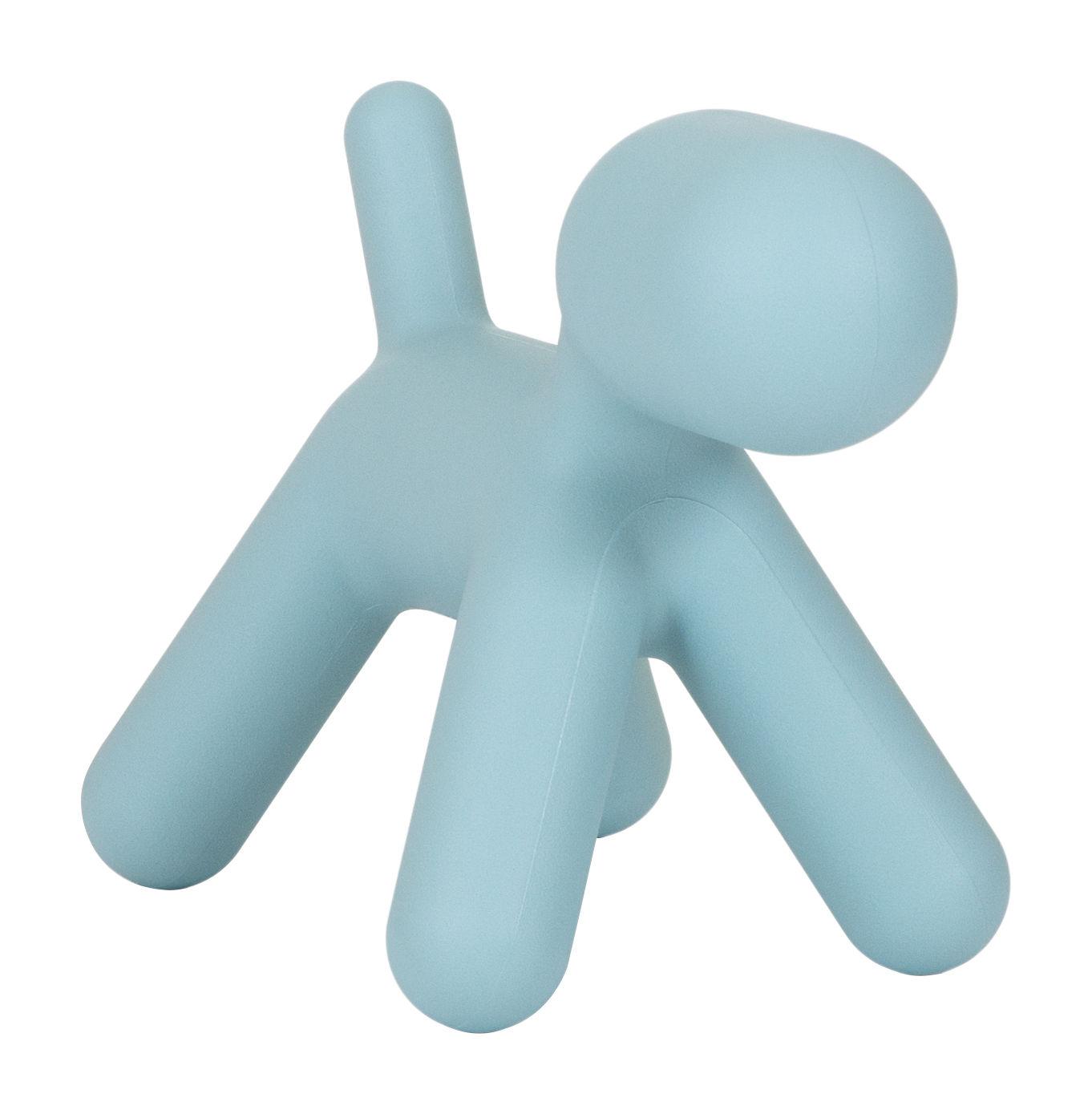 Mobilier - Mobilier Kids - Décoration Puppy Medium / L 56 cm - Magis Collection Me Too - Turquoise mat - Polyéthylène rotomoulé