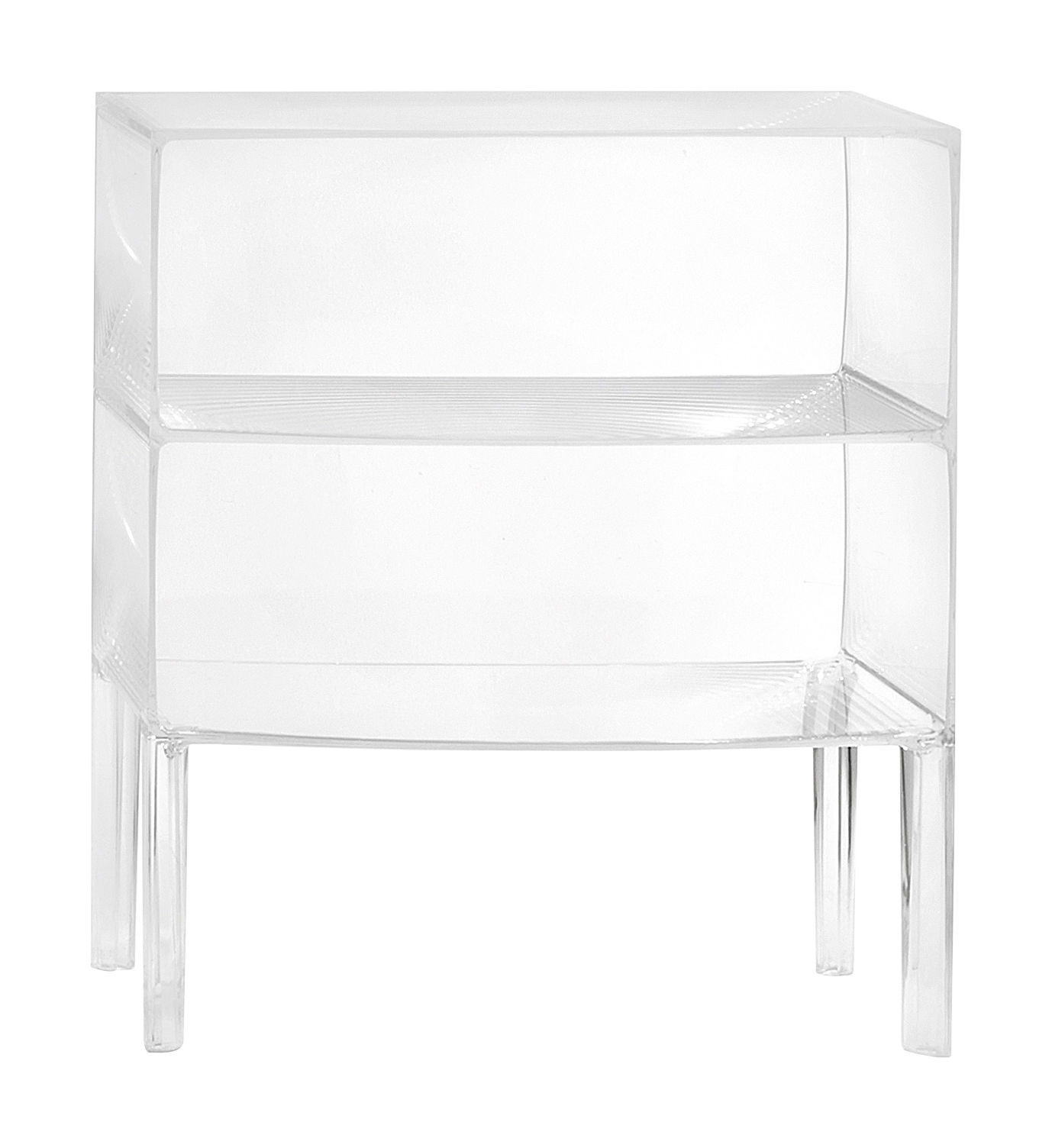 Möbel - Kommode und Anrichte - Ghost Buster Kommode - Kartell - Kristall - PMMA